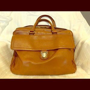 Banana Republic Leather Briefcase Bag